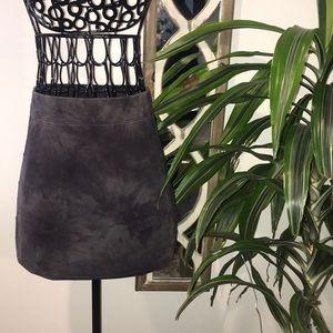 ✨Nollie Swirl Tie Dyed Tight Mini Skirt (FREE WB)